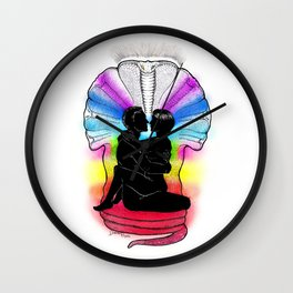 SHAKTI KUNDALINI - the Sacred Sex Wall Clock