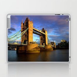 Dusk at Tower Bridge Laptop & iPad Skin