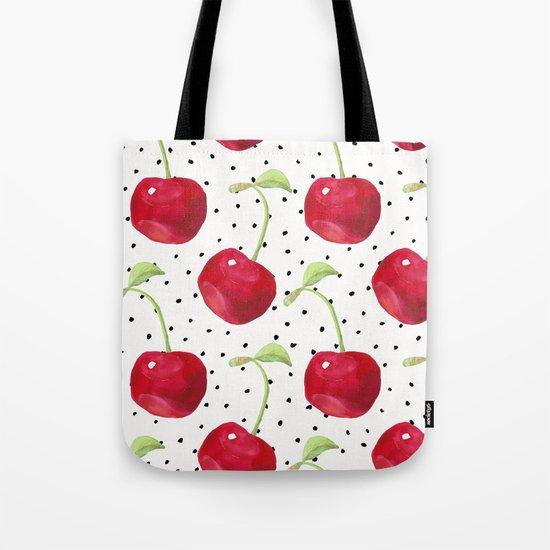 Cherry pattern II Tote Bag