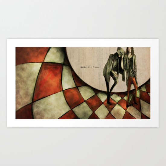 13th Floor with Diana Art Print