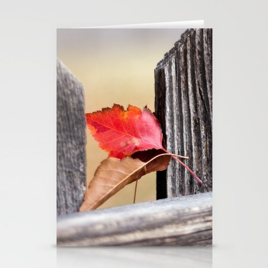 On the Fence Stationery Cards