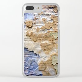 Visions of another life - Number 1 Clear iPhone Case