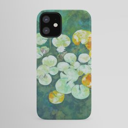 Tranquil lily pond iPhone Case