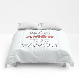 más amor Comforters