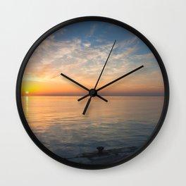 Quiet morning II Wall Clock