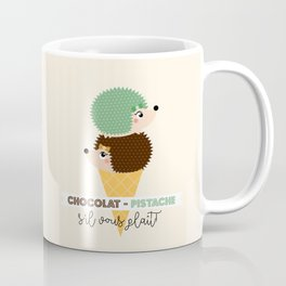 Chocolat-pistache Coffee Mug