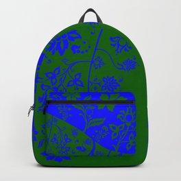 floral ornaments pattern vom150 Backpack