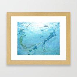 The Old Man & the Sea Framed Art Print