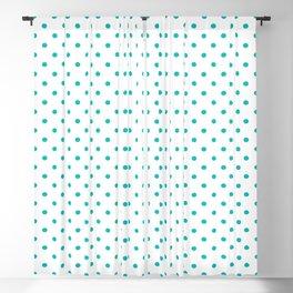 Dots (Eggshell Blue/White) Blackout Curtain