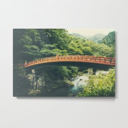 Shinkyo Bridge Metal Print