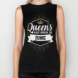 Queens-are-born-in-June-1 Biker Tank
