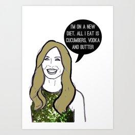 Diet Art Print