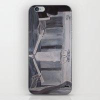 wedding iPhone & iPod Skins featuring Wedding by Lark Nouveau Studio