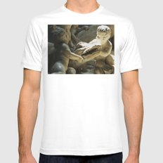 See You Later Alligator MEDIUM Mens Fitted Tee White