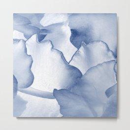 Blue Petals Metal Print