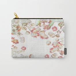 Ethereal Pastel Summer Garden Carry-All Pouch