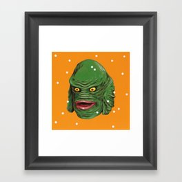 Creature Framed Art Print