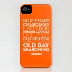 Baltimore — Delicious City Prints iPhone (4, 4s) Slim Case