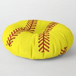 Fast Pitch Softball Floor Pillow