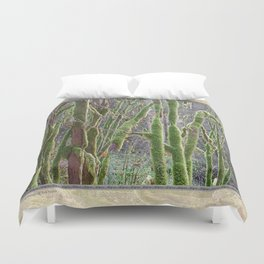 YOUNG RAINFOREST VINE MAPLES Duvet Cover