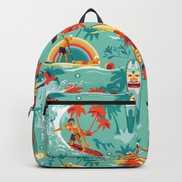 Hawaiian resort Backpack