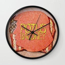 POTUS BALONEY Wall Clock