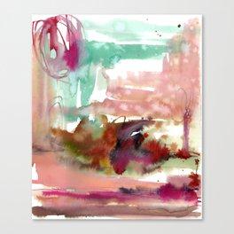 Neringa coast Canvas Print