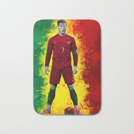 Cristiano Ronaldo - Portugal Bath Mat
