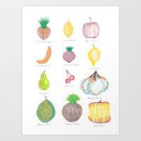 Genetically Modified Food 1 Art Print