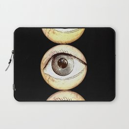 Three Eyes, Eyeballs Watching You Laptop Sleeve
