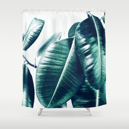 Ficus Elastica #1 Shower Curtain