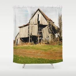 Tobacco Barn Shower Curtain