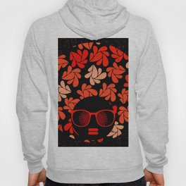 Afro Diva : Coral Red Hoody