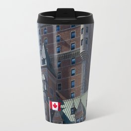 Chateau Frontenac au #quebec Travel Mug