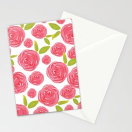 Field of Roses Stationery Cards