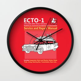 ECTO-1 Service and Repair Manual Wall Clock