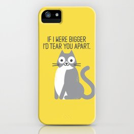 Purrfectly Honest iPhone Case