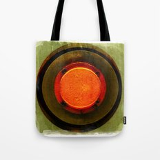 big red button Tote Bag