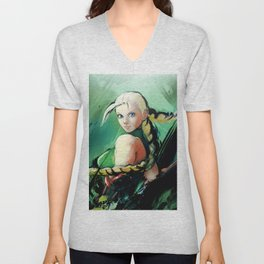 Cammy Unisex V-Neck