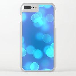 Bokeh I Clear iPhone Case