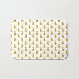 Funny Pineapple Face Bath Mat