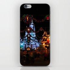 Christmas Castle I iPhone & iPod Skin
