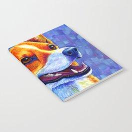 Colorful Pembroke Welsh Corgi Dog Notebook