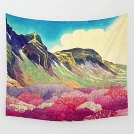Walk towards Manayama Wall Tapestry