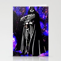 vader Stationery Cards featuring Vader  by Saundra Myles