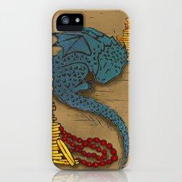 Tiny Dragon iPhone Case