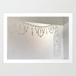 Sweet sanctuary silhouette Art Print