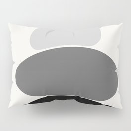 b&w 2 Pillow Sham