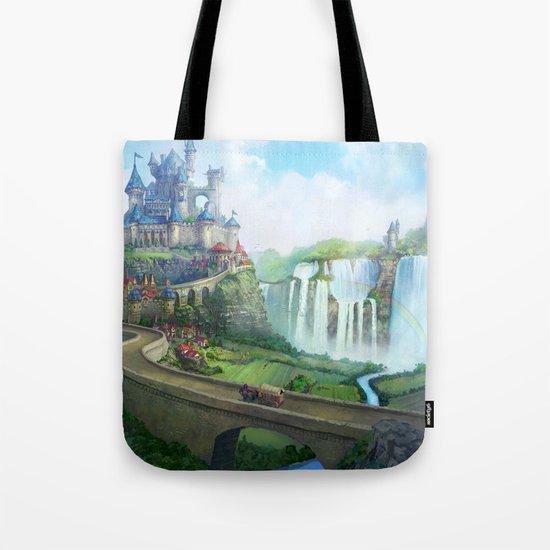 epic fantasy castle  Tote Bag