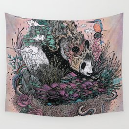 Land of the Sleeping Giant Wall Tapestry